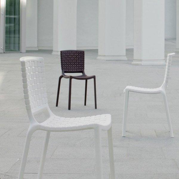 Stylowe krzesło Pedrali Tatami 305 do wnętrz i ogrodów