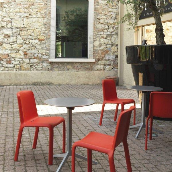 Krzesła na patio Pedrali Snow 300