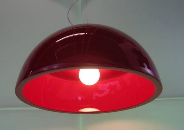 Cupole Slide Lampa Wisząca Ø 80 h 40 Lakierowana