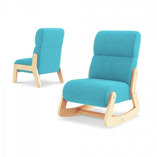 Fotelik dziecięcy z zagłówkiem FUN z funkcją fotelika bujanego