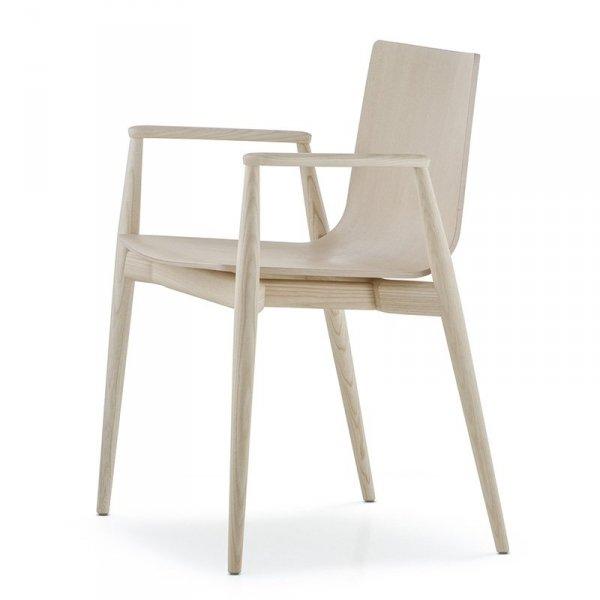 Nowoczesne krzesło z podłokietnikami Malmo 395