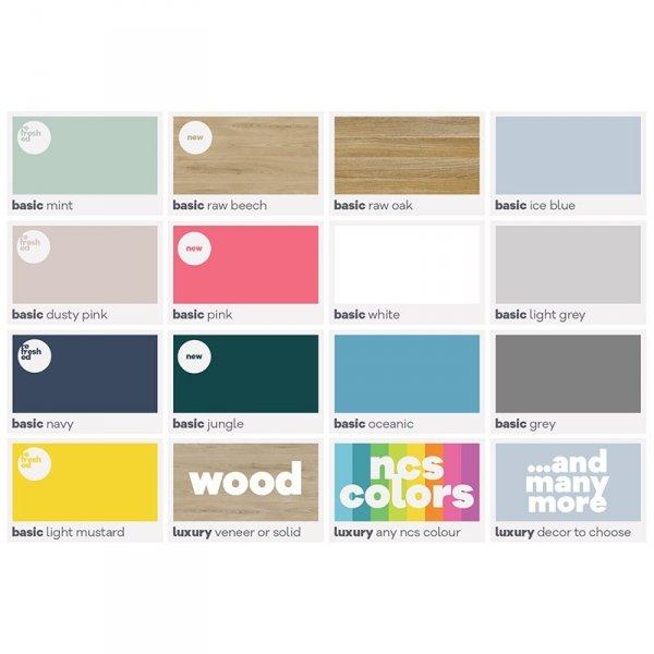 Stylowa konsola Minko Maxi kolory