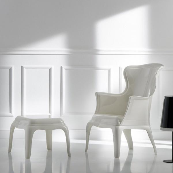 Designerski fotel do salonu Pasha 660