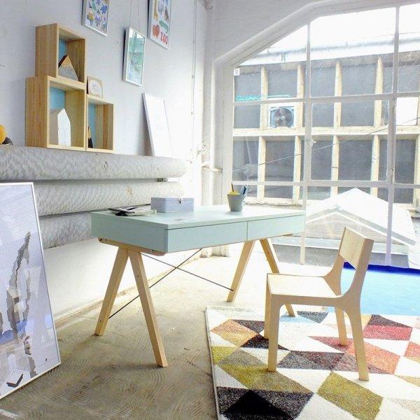 Biurko Minko Basic jest idealnym meblem do wnętrz w stylu nowoczesnym czy skandynawskim