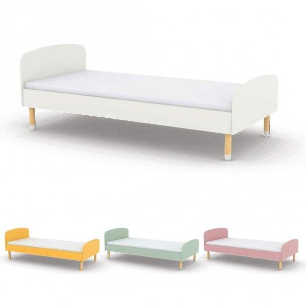 Łóżko dziecięce Flexa Play żółte 200cm