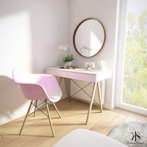 Piękne biurko Minko Basic będzie idealnym meblem do każdego wnętrza