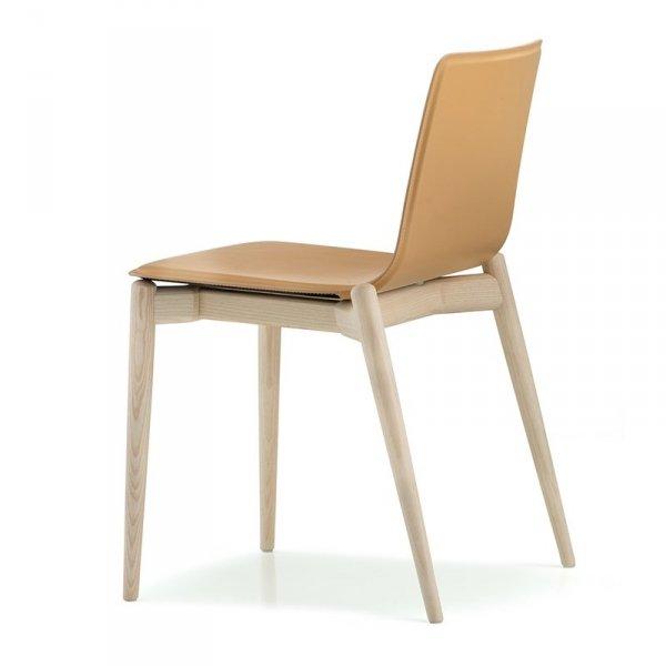 Drewniane krzesło w stylu skandynawski Malmo 392 Pedrali