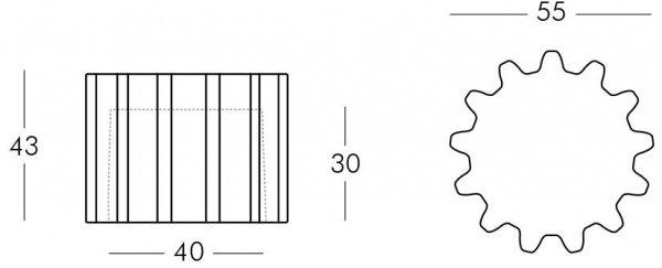 Gear z wbudowanym oświetleniem Slide