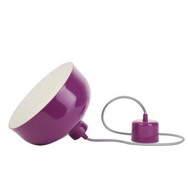 B&B lampa wisząca fiolet połysk LoftYou