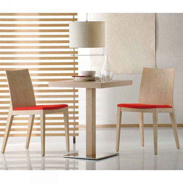 Drewniane krzesło do jadalni Twig 429 od Pedrali