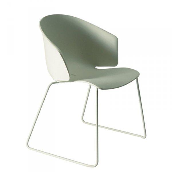 Stylowe włoskie krzesła Pedrali
