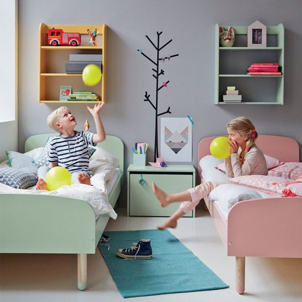 Łóżko dziecięce Flexa Play mleczna zieleń 190cm