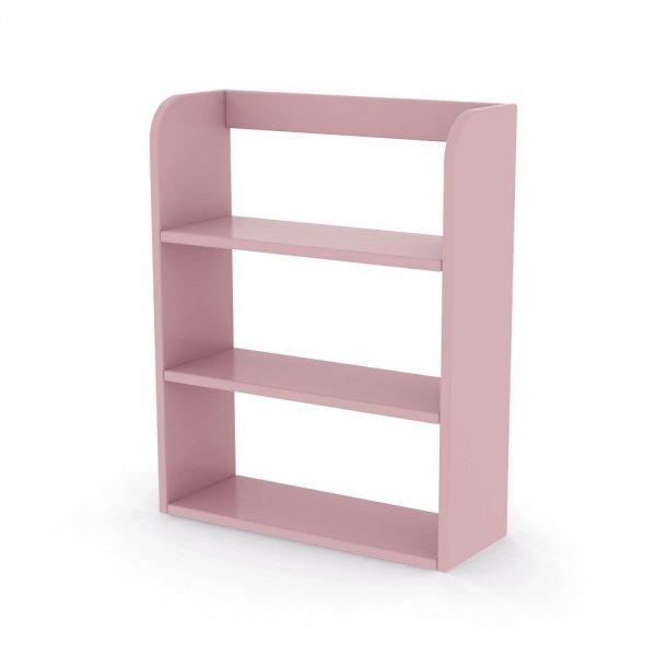 Regał z półkami Flexa Play różowy