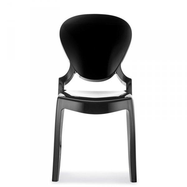 Nowoczesne krzesło Pedrali Queen 650 czarne