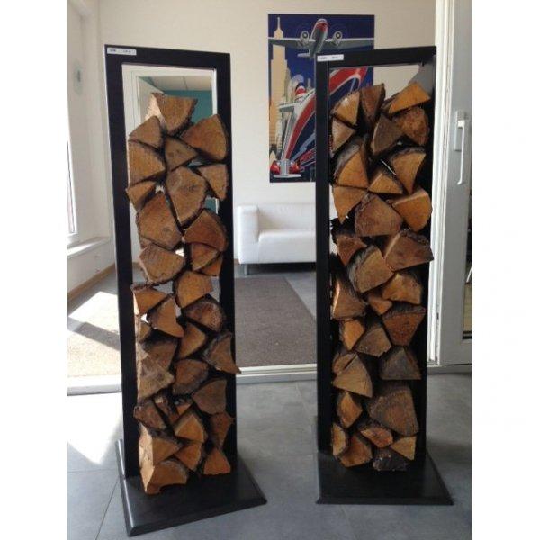 Stylowy stojak na drewno Etro