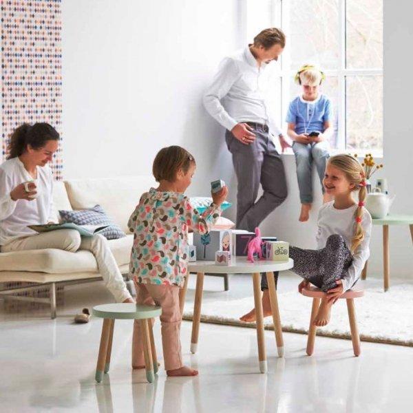 Stołek dziecięcy Flexa Play mleczna zieleń