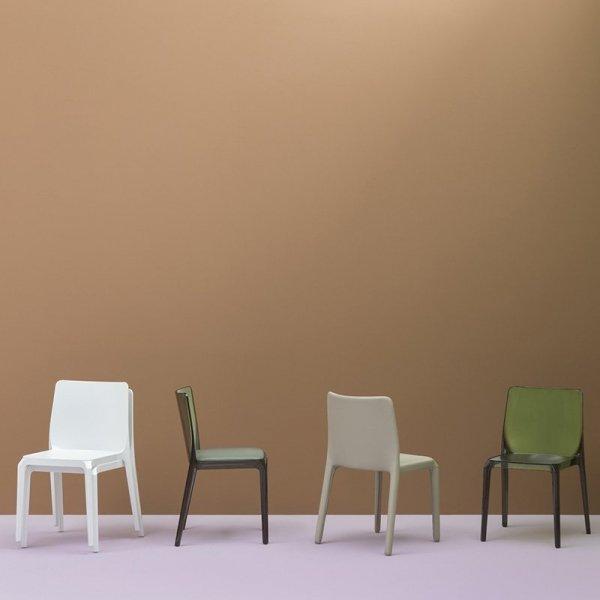 Nowoczesne krzesła do przestrzeni komercyjnych