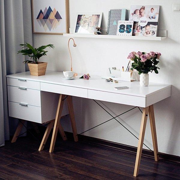 Designerskie biurka do stylowych wnętrz Minko
