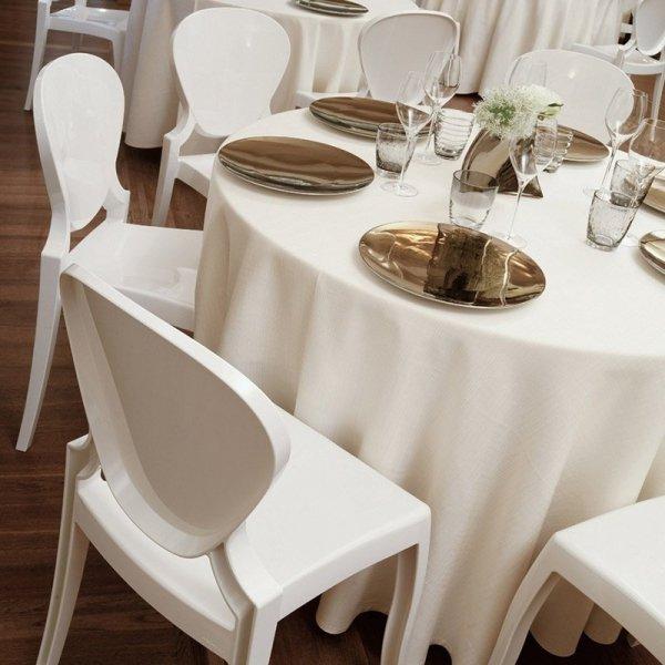 Krzesła do restauracji, baru, kawiarni i na przyjęcia Pedrali Queen 650