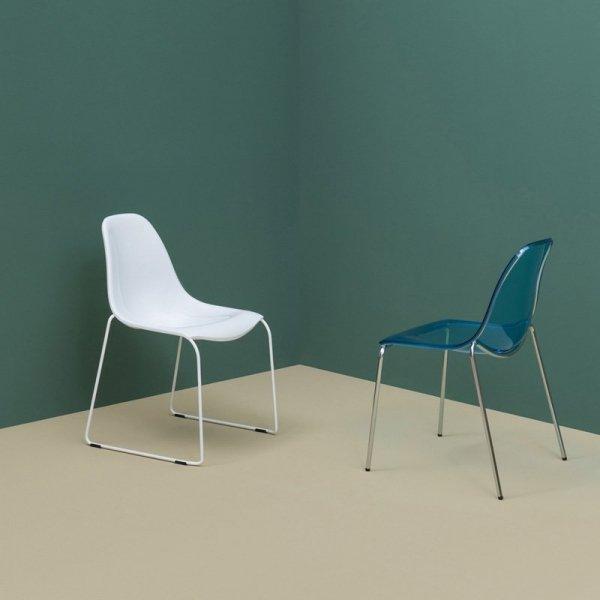 Piękne, wytrzymałe krzesła Day Dream 401 Pedrali