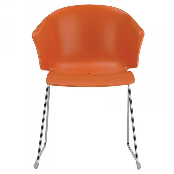 Krzesła z tworzywa marki Pedrali