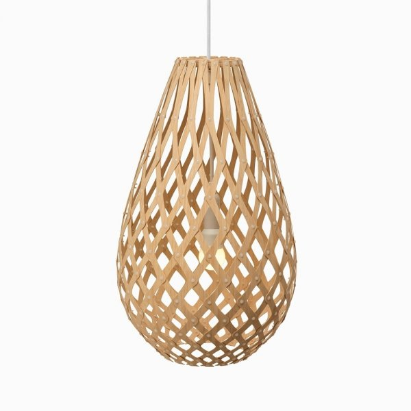 Lampa wisząca drewniana Koura 50cm