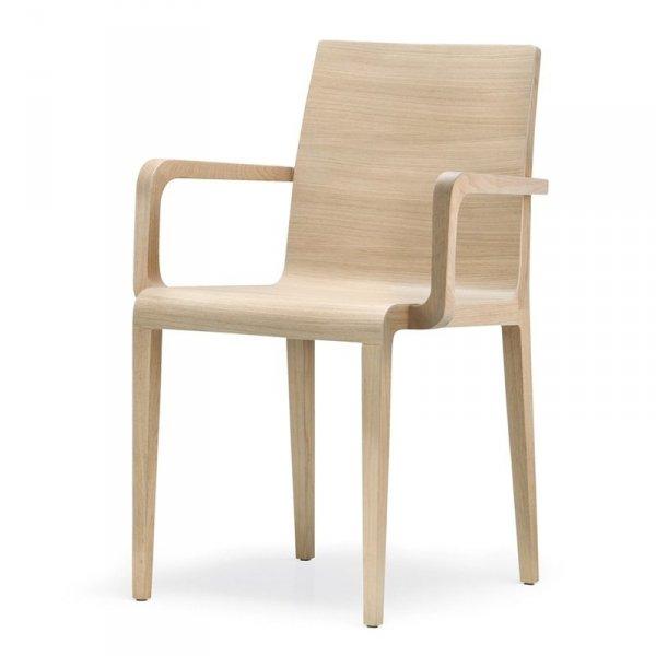 Krzesła drewniane w stylu skandynawskim Young 425 Pedrali