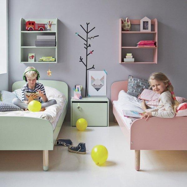Łóżko dziecięce Flexa Play różowe 200cm