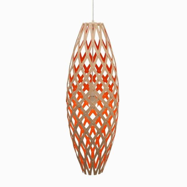 Drewniana lampa wisząca Hinaki 90cm