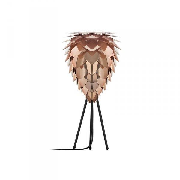 Lampka z abażurem Conia Mini w pięknym miedzianym kolorze będzie idealny do każdego wnętrza
