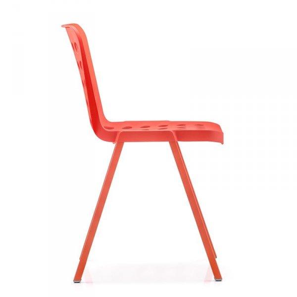 Krzesła do nowoczesnych wnętrz Koi-Booki Pedrali