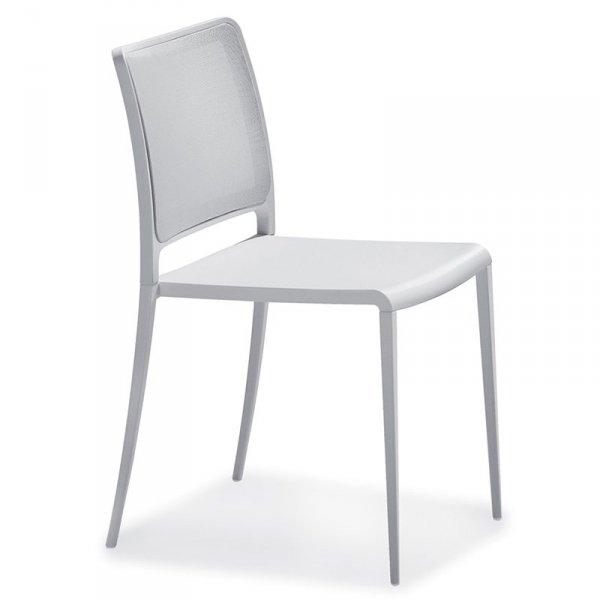 Stylowe krzesło z siedziskiem z wytrzymałej tkaniny Mya 701
