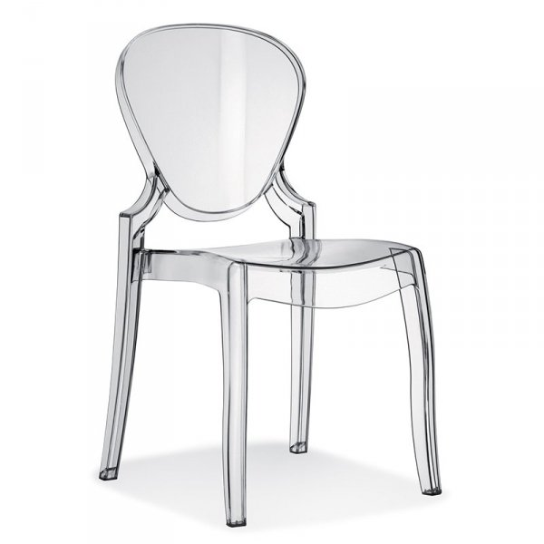 Stylowe krzesło do jadalni Queen Pedrali