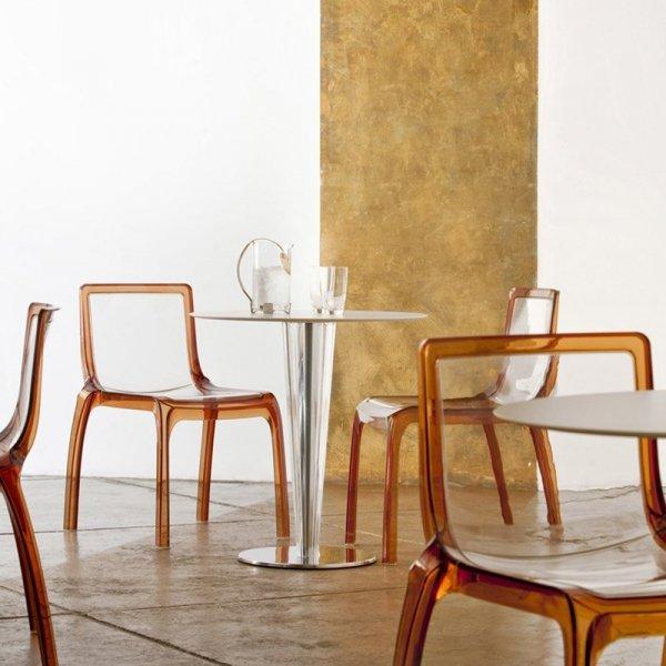 Piękne krzesła do restauracji Pedrali Miss You 610