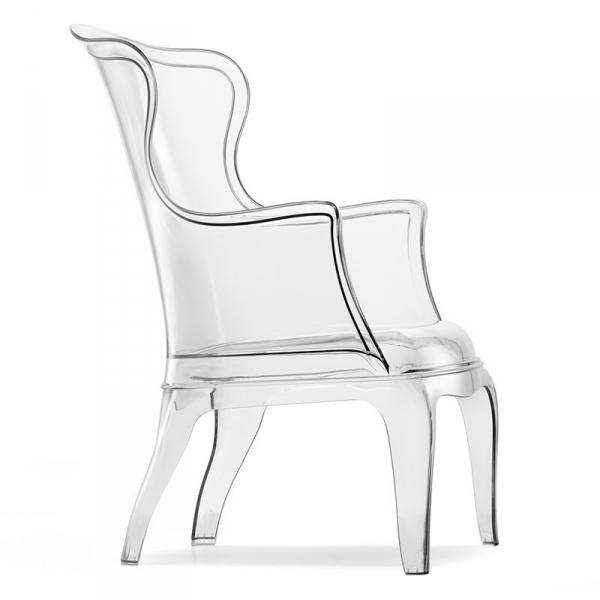 Stylowe krzesło o klasycznym kształcie z tworzywa Pasha 660 Pedrali