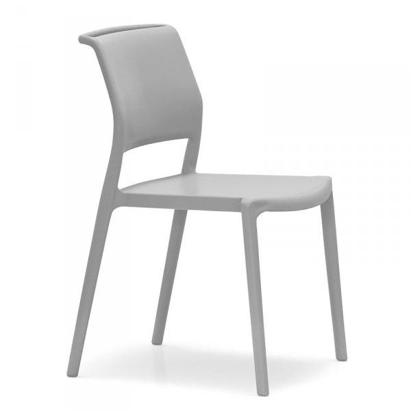 Designerskie krzesło ogrodowe Ara 310 Pedrali Siwe