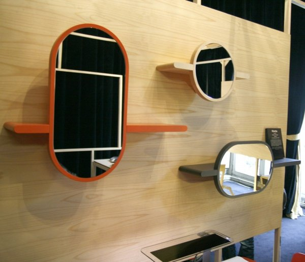 Mirette półka z lustrem pozioma OXYO