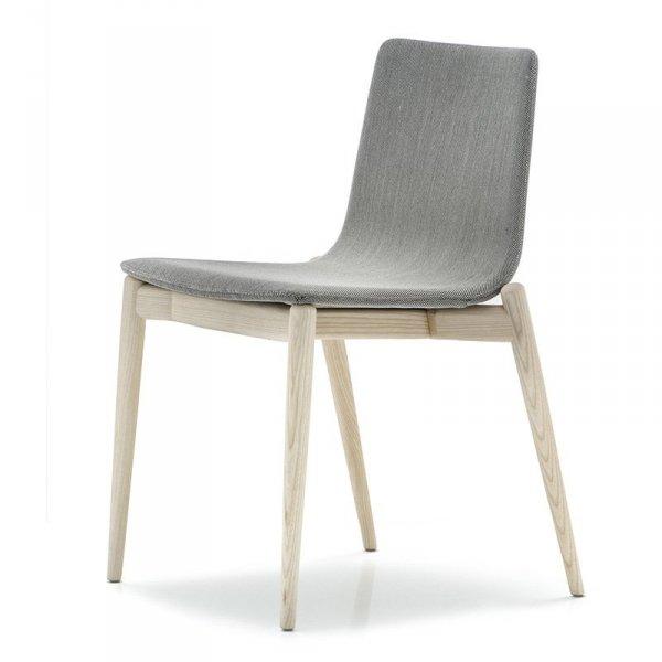 Krzesło drewniane Malmo w stylu skandynawskim 391 Pedrali