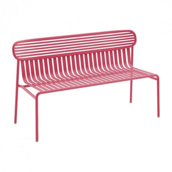 Weekend metalowa ławka ogrodowa