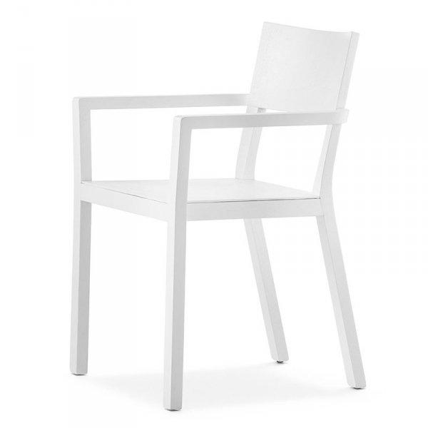 Piękne, drewniane krzesło w stylu skandynawskim do jadalni i kuchni Feel 450/2 marki Pedrali.