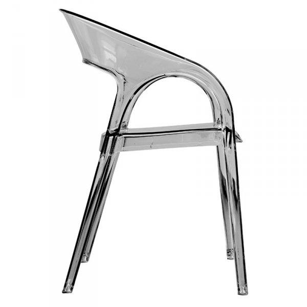 Wytrzymałe krzesła z tworzywa do restauracji