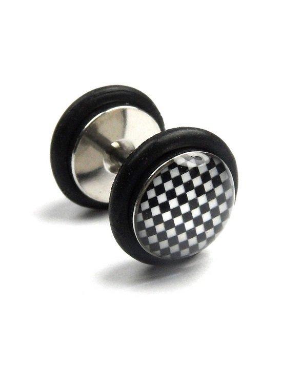 Męski fake plug piercing Estilo Sabroso Es01188