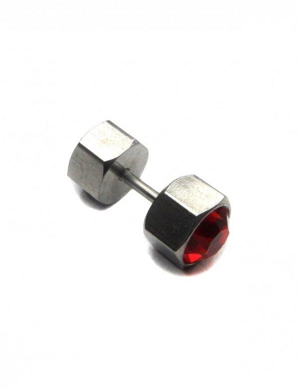 Męski fake piercing kolczyk Estilo Sabroso Es01616