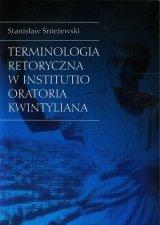 Terminologia retoryczna w Institutio Oratoria Kwintyliana