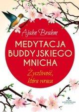 Medytacja buddyjskiego mnicha