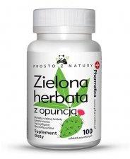 Zielona herbata z opuncją 100 tabletek