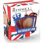 Rimmel Naturalny Look - Maskara Extra Super Lash Curve + Transparentny Puder Stay Matte
