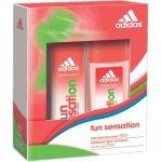 Adidas Fun Sensation Perfumed Deo Spray 150 ml + Deodorant Body Fragrance 75 ml