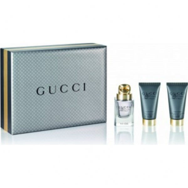 ZESTAW Gucci Made to Measure EdT 50 ml + After Shave Balm 50 ml + Shower Gel 50 ml