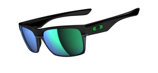 Okulary Oakley TWOFACE Polished Black/Jade Iridium OO9189-04